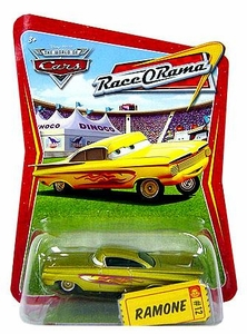 Disney / Pixar CARS Movie 1:55 Die Cast Car Series 4 Race-O-Rama Ramone [Gold]