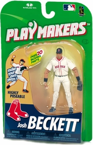McFarlane Toys MLB Playmakers Series 1 Action Figure Josh Beckett (Boston Red Sox) [Fielding Version]