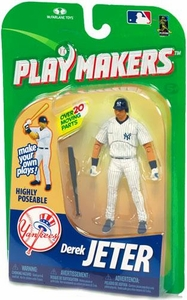 McFarlane Toys MLB Playmakers Series 1 Action Figure Derek Jeter (New York Yankees) [Batting Version]