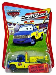 Disney / Pixar CARS Movie 1:55 Die Cast Car Series 4 Race-O-Rama Race Tow Truck Tom