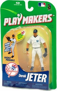 McFarlane Toys MLB Playmakers Series 1 Action Figure Derek Jeter (New York Yankees) [Fielding Version] Very Hard to Find!