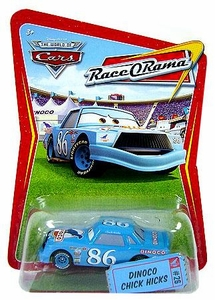 Disney / Pixar CARS Movie 1:55 Die Cast Car Series 4 Race-O-Rama Dinoco Chick Hicks