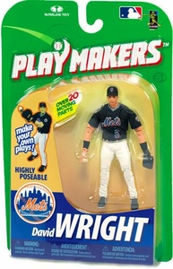 McFarlane Toys MLB Playmakers Series 1 Action Figure David Wright (New York Mets) [Fielding Version]