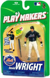 McFarlane Toys MLB Playmakers Series 1 Action Figure David Wright (New York Mets) [Batting Version]