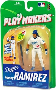 McFarlane Toys MLB Playmakers Series 1 Action Figure Manny Ramirez (Los Angeles Dodgers) [Batting Version]