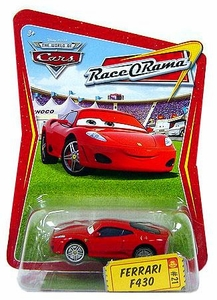 Disney / Pixar CARS Movie 1:55 Die Cast Car Series 4 Race-O-Rama Ferrari F430