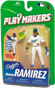 McFarlane Toys MLB Playmakers Series 1 Action Figure Manny Ramirez (Los Angeles Dodgers) [Fielding Version]
