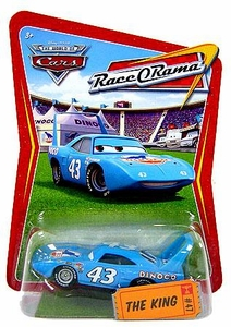 Disney / Pixar CARS Movie 1:55 Die Cast Car Series 4 Race-O-Rama The King