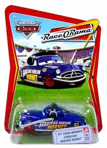 Disney / Pixar CARS Movie 1:55 Die Cast Car Series 4 Race-O-Rama Pit Crew Member Fabulous Hudson Hornet
