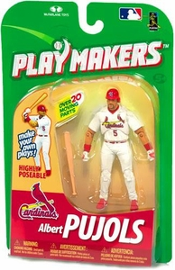McFarlane Toys MLB Playmakers Series 1 Action Figure Albert Pujols (St. Louis Cardinals) [Batting Version]