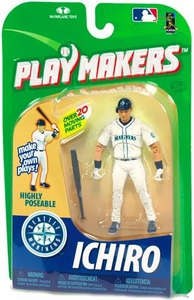 McFarlane Toys MLB Playmakers Series 1 Action Figure Ichiro Suzuki (Seattle Mariners) [Batting Version]