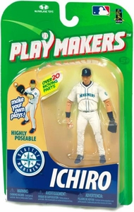 McFarlane Toys MLB Playmakers Series 1 Action Figure Ichiro Suzuki (Seattle Mariners) [Fielding Version]
