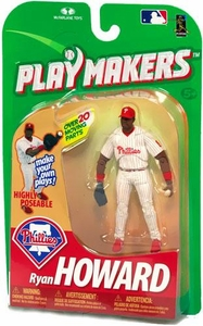 McFarlane Toys MLB Playmakers Series 1 Action Figure Ryan Howard (Philadelphia Phillies) [Fielding Version]