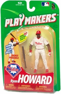 McFarlane Toys MLB Playmakers Series 1 Action Figure Ryan Howard (Philadelphia Phillies) [Batting Version]