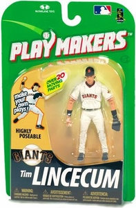 McFarlane Toys MLB Playmakers Series 1 Action Figure Tim Lincecum (San Francisco Giants) [Fielding Version]