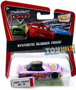 Disney / Pixar CARS Movie Exclusive 1:55 Die Cast Car with Synthetic Rubber Tires Vinyl Toupee