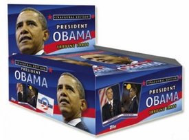 Topps Trading Cards Box Inaugural Edition President Barack Obama