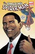 Marvel Comic Books Amazing Spider-Man #583 [2ND PRINTING] with Barack Obama Cover