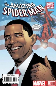 Marvel Comic Books Amazing Spider-Man #583 [3RD PRINTING] with Barack Obama Cover BLOWOUT SALE!
