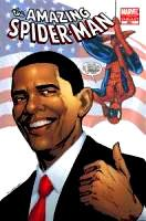 Marvel Comic Books Amazing Spider-Man #583 [4TH PRINTING] with Barack Obama Cover