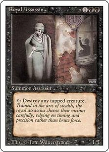 Magic the Gathering Revised Edition Single Card Rare Royal Assassin