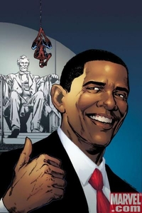 Marvel Comic Books Amazing Spider-Man #583 [5TH PRINTING] with Barack Obama Cover