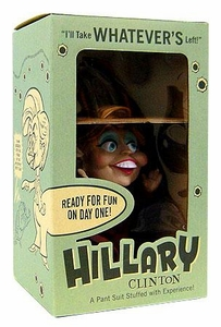 John K. Limited Edition 8.5 Inch Political Figure Hillary Clinton