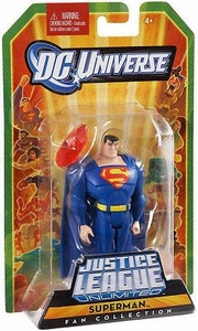 DC Universe Justice League Unlimited Fan Collection Action Figure Superman [BLUE]