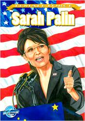 Vice Presidential Nominee Sarah Palin Female Force Comic