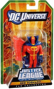 DC Universe Justice League Unlimited Fan Collection Action Figure Red Tornado
