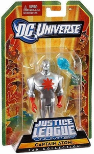 DC Universe Justice League Unlimited Fan Collection Action Figure Captain Atom [Silver]