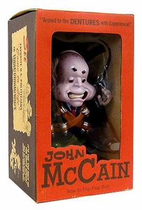 John K. Limited Edition 8.5 Inch Political Figure John McCain No Package, Mint Item!