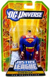 DC Universe Justice League Unlimited Fan Collection Action Figure Superman [Includes Mini Kandor]