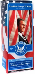 Toypresidents 12 Inch Collectible U.S. President Talking Action Figure George W. Bush
