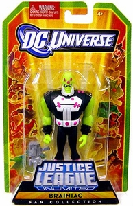 DC Universe Justice League Unlimited Fan Collection Action Figure Brainiac