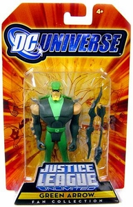 DC Universe Justice League Unlimited Fan Collection Action Figure Green Arrow