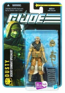 GI Joe Pursuit of Cobra 3 3/4 Inch Action Figure Dusty [Desert Combat Specialist]