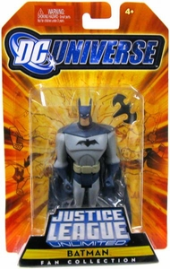 DC Universe Justice League Unlimited Fan Collection Action Figure Batman [Grey Costume]