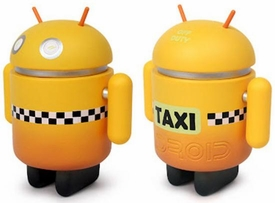 Android Big Box Edition 3 Inch Mini Collectible Figure Taxi
