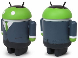 Android Big Box Edition 3 Inch Mini Collectible Figure Business Man
