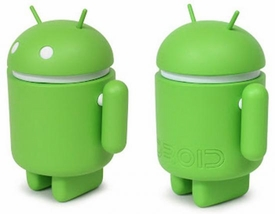 Android Big Box Edition 3 Inch Mini Collectible Figure Green Guy
