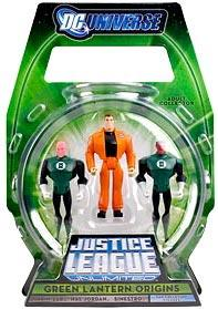 Justice League Unlimited 2009 SDCC San Diego Comic-Con Exclusive Action Figure 3-Pack Green Lantern Origins [Hal Jordan, Abin Sur & Sinestro]