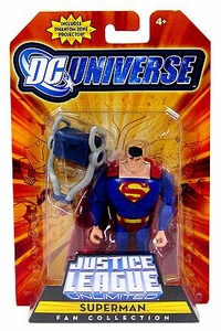 DC Universe Justice League Unlimited Fan Collection Action Figure Superman [Includes Phantom Zone Projector]