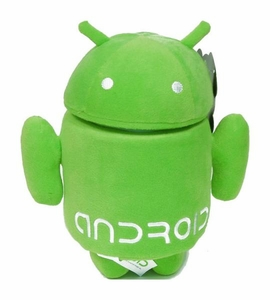 Android 7 Inch Plush Green Guy