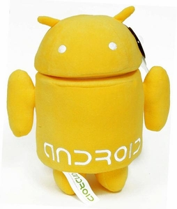 Android 7 Inch Plush Yellow Guy