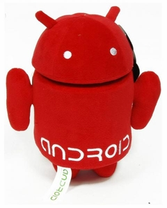 Android 7 Inch Plush Red Guy