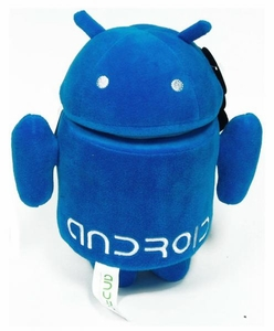 Android 7 Inch Plush Blue Guy