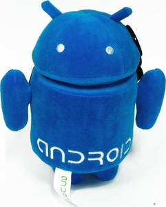 Android 10 Inch Plush Blue Guy