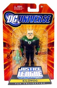 DC Universe Justice League Unlimited Fan Collection Action Figure Kilowog