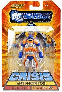 DC Universe Infinite Heroes 2009 SDCC San Diego Comic-Con Exclusive 3 3/4 Inch Action Figure Anti-Monitor